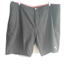 Tommy Bahama Relax Men Swim Trunks 38 Shorts Black